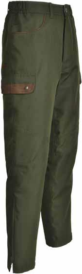 including 1 for a mobile phone, comfort gusset on the shoulders, PVC coated game pouch, game carrier hook Size: S 3XL Colours: khaki 10120 Vosges hunting