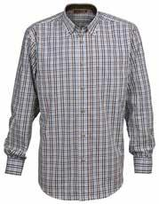Small-check shirt 1644 Beaugency