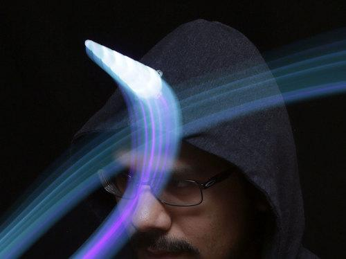 Simple LED Unicorn Horn Created by Ruiz