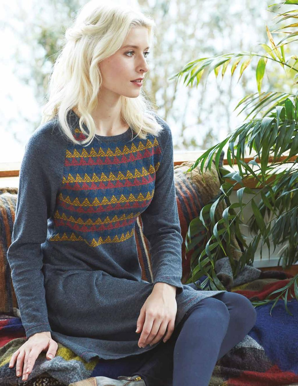 All of our knitwear is made from 100% natural fibres, a