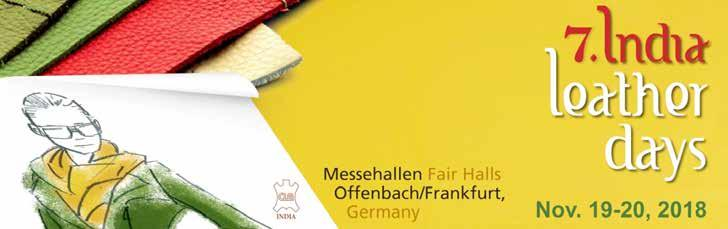 7th Edition of India Leather Days, Offenbach, Germany November 19-20, 2018 A Report by T.