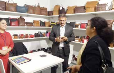 28 companies from all over India had participated in the 7th India Leather Days and displayed their latest collection of Leather Goods and Leather Garments.