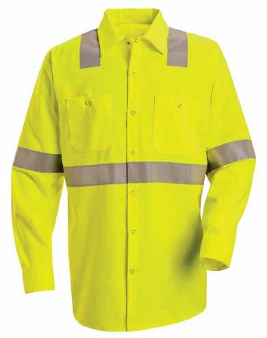 hi-visibility Work shirt: class 2 level 2 SS14 Real protection for real exposure. With UPF 40 and 360 visibility, you re protected day and night.