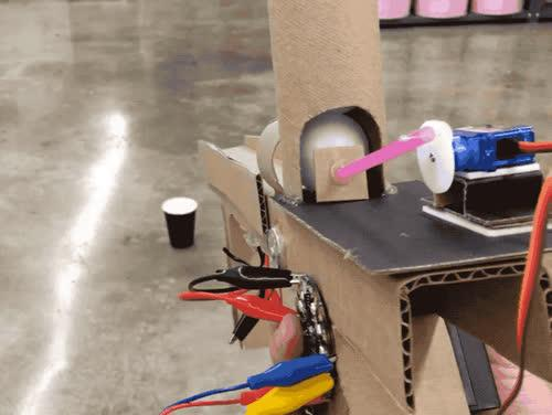 Ping Pong Ball Launcher Created by Dano