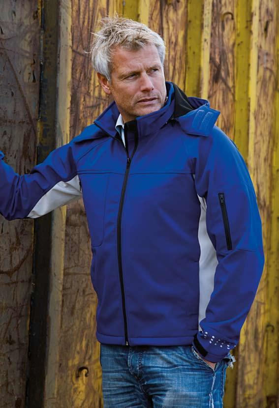 Soft Shell 00 009 00 Breathable, waterproof soft shell fabric is one of the technical qualities that has gradually made its mark in workwear.
