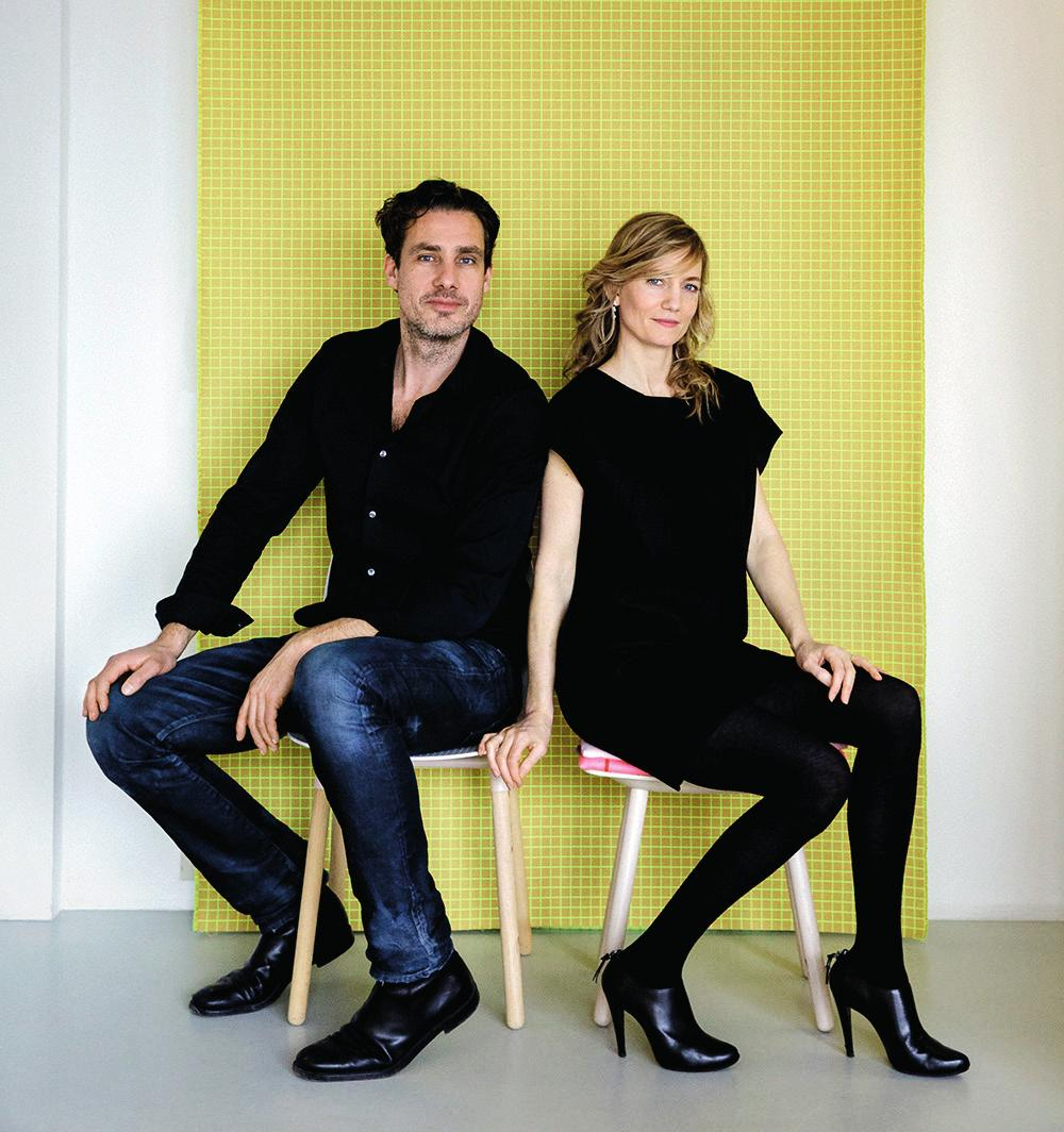 02. MEET SCHOLTEN & BAIJINGS The paths of Dutch duo Stefan Scholten and Carole Baijings crossed in the late 90s when Stefan, who had just graduated from the famous Design Academy Eindhoven, was asked