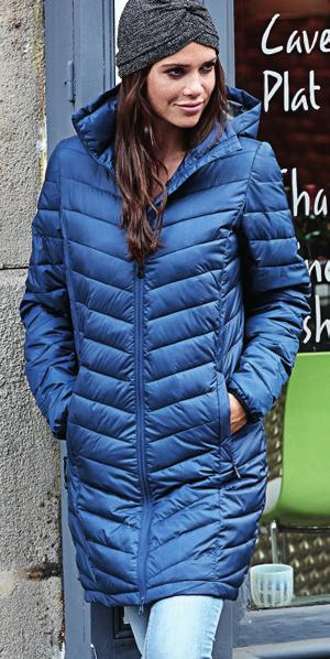 This new Ladies Zepelin jacket is made to be combined