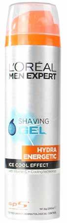 85 w/s LOREAL Men Expert Shaving Gel Ice Cool Effect Hydra