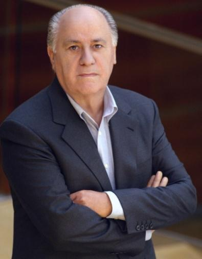 Mr. Amancio Ortega Founding partner of Inditex and President of his Advice and of his Executive commission from his