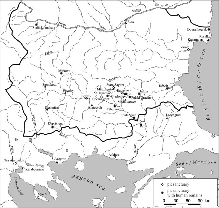 On Human Sacrifice in Thrace (On Archaeological
