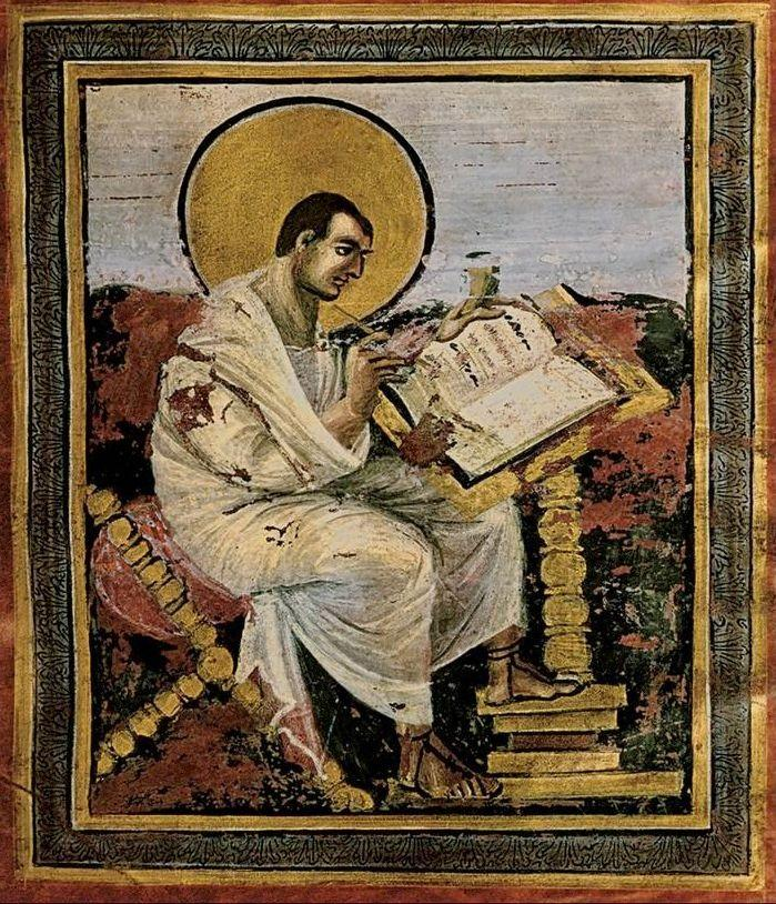 Carolingian Period Saint Matthew Coronation Gospels, Aachen Germany 800-810 Charlemagne was a sincere admirer of learning, the arts, and classical culture.