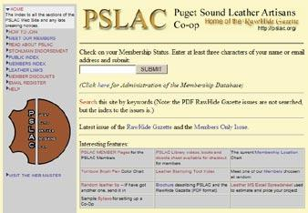 Toll Free Order Lines: 1-(888) 263-5277 Fax: 1-(888) 263-5086 Hide Crafter Leathercraft Offering wholesale discount to PSLAC members ON-LINE CATALOG www.hidecrafter.com 7936 Camp Bowie West Ft.