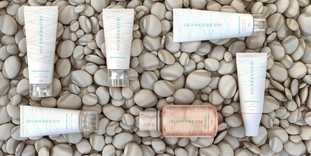 EVERYDAY INDULGENCE, NATURALLY. Jeunesse Spa Botanicals embraces the restorative powers of nature s finest ingredients to awaken the skin and the senses.