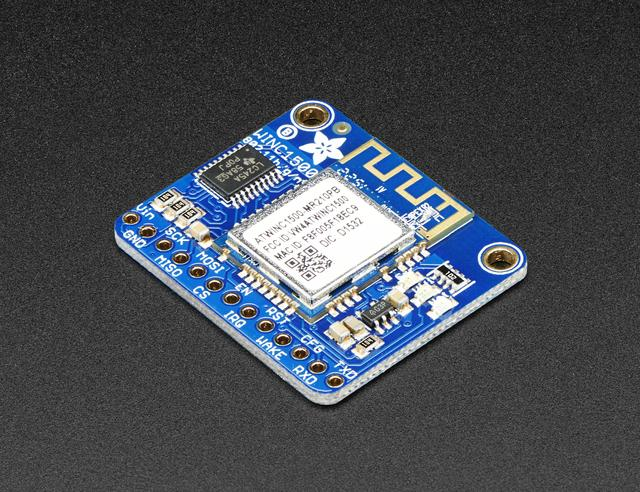 Overview Connect your Arduino to the Internet with this fine new FCC-certified WiFi module from Atmel. This 802.