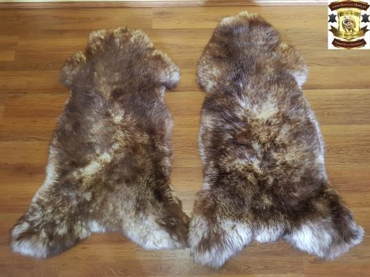 2.Mouflon sheepskin : These are some of the most beautiful skins dyed with high quality tanning