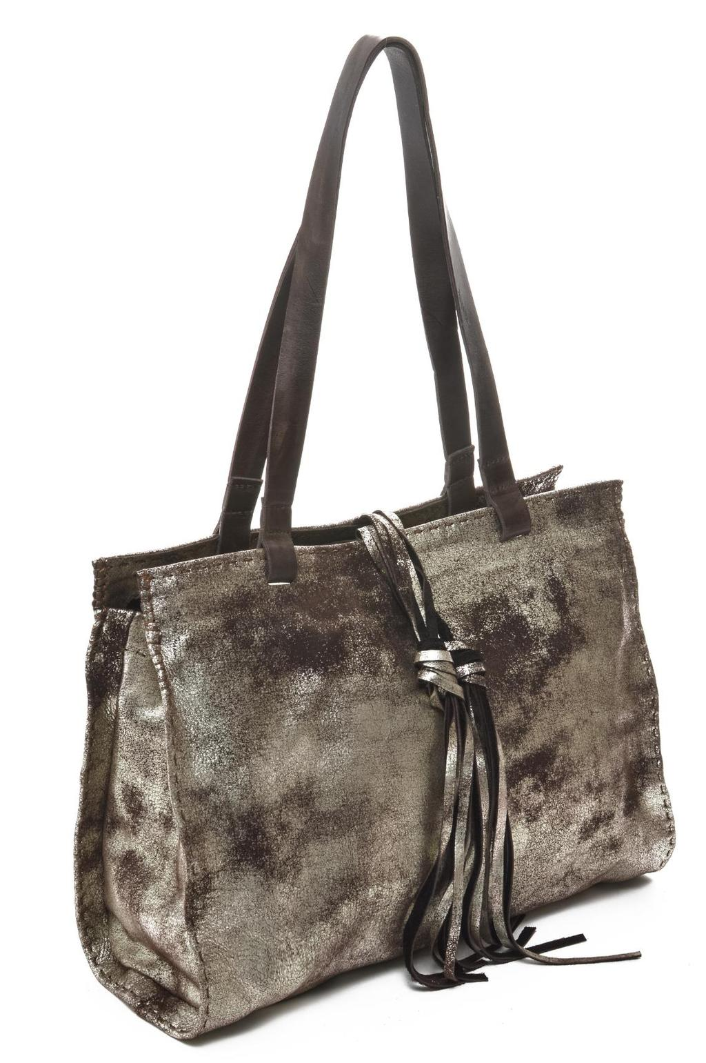 CARMEL Top Zip Signature Tote with