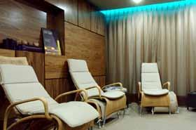 calm. Luxury ESPA Back, Face and Scalp Treatment 1 hour 25 minutes This total body experience targets the classic areas of stress, from headaches, neck pain to shoulder tension.