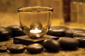 One for beautiful body rituals and envelopments ESPA Chakra Balancing with Hot Stones 2 hours This advanced treatment works with vital energy centres to relax tense muscles and restore clarity and