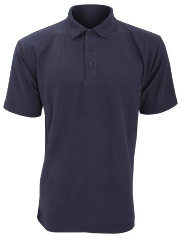 POLO SHIRT Details: Adult heavyweight short sleeve polo shirt Taped back neck for extra comfort Anti roll raised detail on collar and cuffs 3 self coloured button placket 1
