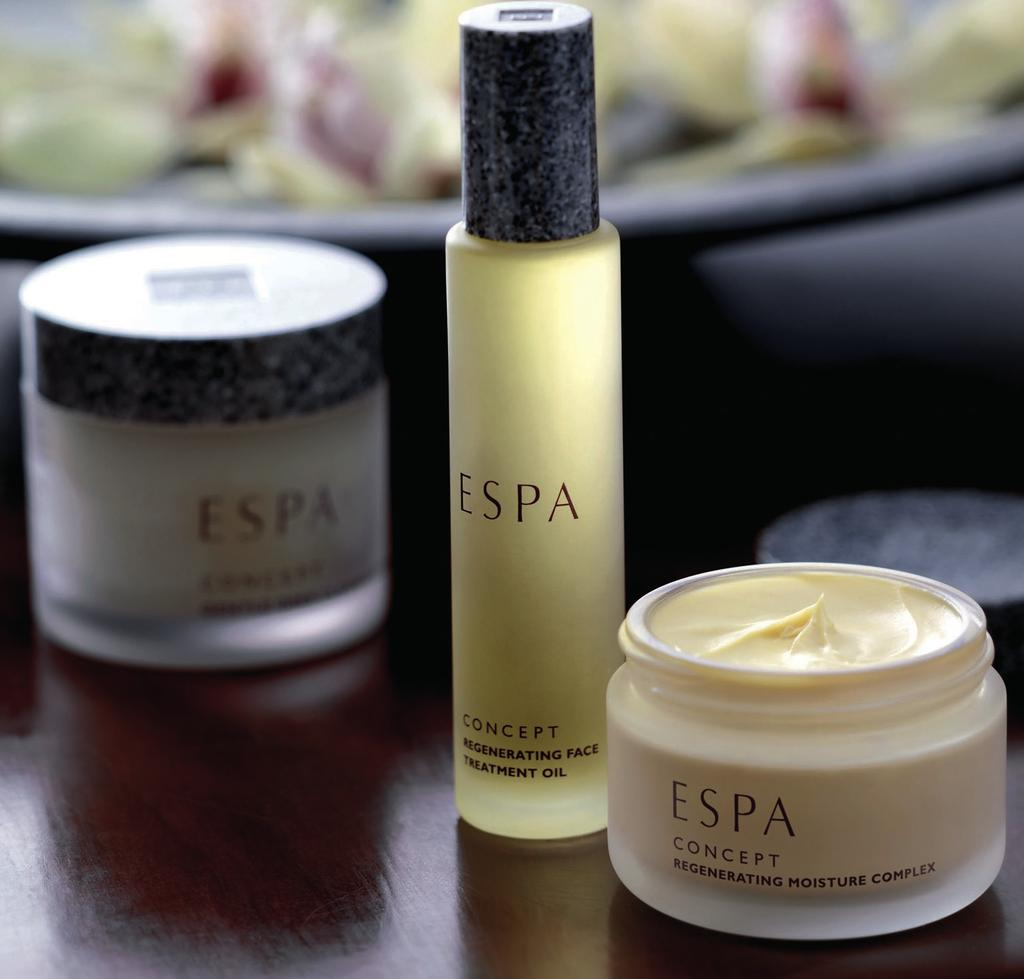 ESPA FACIALS Our facials begin with a detailed consultation and indepth skin analysis using SkinVisionTM technology to identify