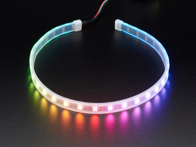 Adafruit NeoPixel LED Strip with 3-pin JST Connector $12.50 IN STOCK ADD TO CART That's all there is to it!
