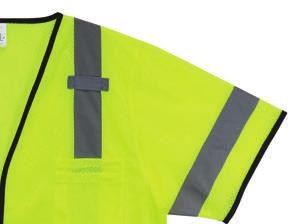 CUSTOMIZATION Your Hi-Viz, Your Way Customizable Don t settle for standard. Get your hi-viz apparel the way you want it. Promote your company name by adding your logo.