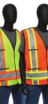 Surveyor s Safety Vest Solid - Color-block black