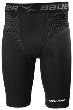 5 H BAUER PREMIUM COMPRESSION PANT AND SHORT - Main: 84% cocona 37.