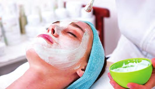 FACIAL TREATMENTS Facial treatments are recommended on a weekly or monthly basis to achieve and maintain optimal results.