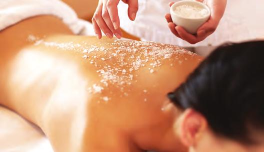 The Beach Club Signature Body Polish Treatment The body polish treatment is an exfoliating body treatment to replenish your skin.