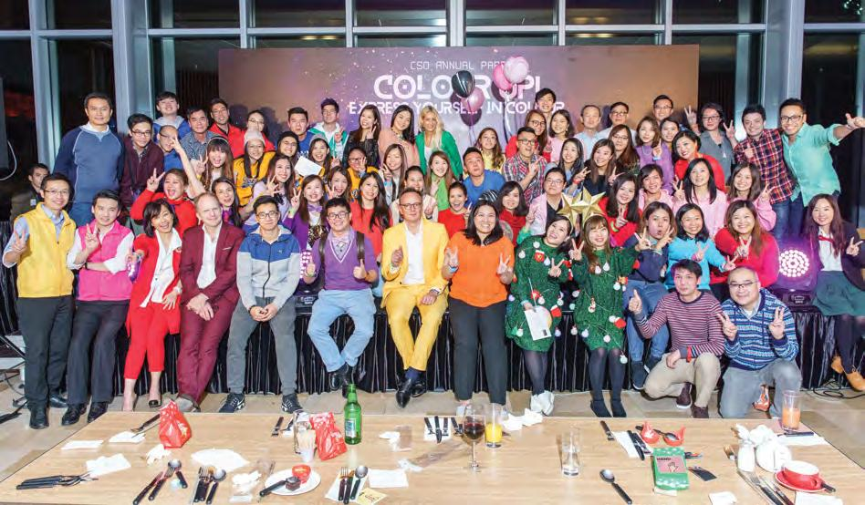 And on the evening of 13 December, CSO took over PUBLIC for their annual bash, which invited them to Colour Up!