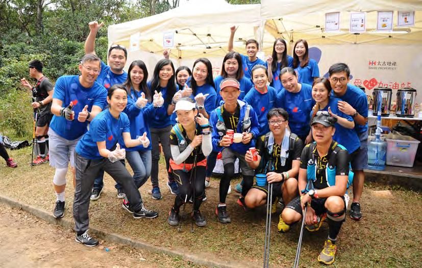 This year, 71 of our Ambassadors cheered on the 5,000-plus competitors and kept them energised with hot dogs, Japanese sweet potatoes, a wide variety of tea and