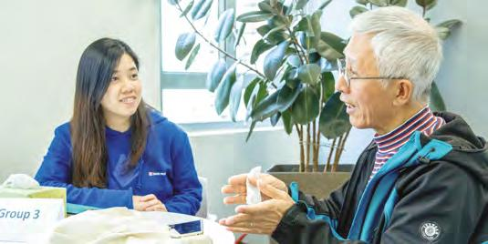 Once Upon a Swire Time 太古有段故 During a special Community Ambassador event Winnie Leung (HR&A) and Meiling Ng (Projects) took a stroll down memory lane, sitting down with three former Taikoo Dockyard