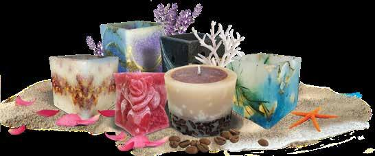 CANDLES CANDLES SOY CANDLES Is known that the soybean oil is a rich source of protein and it is a frequently-used raw material