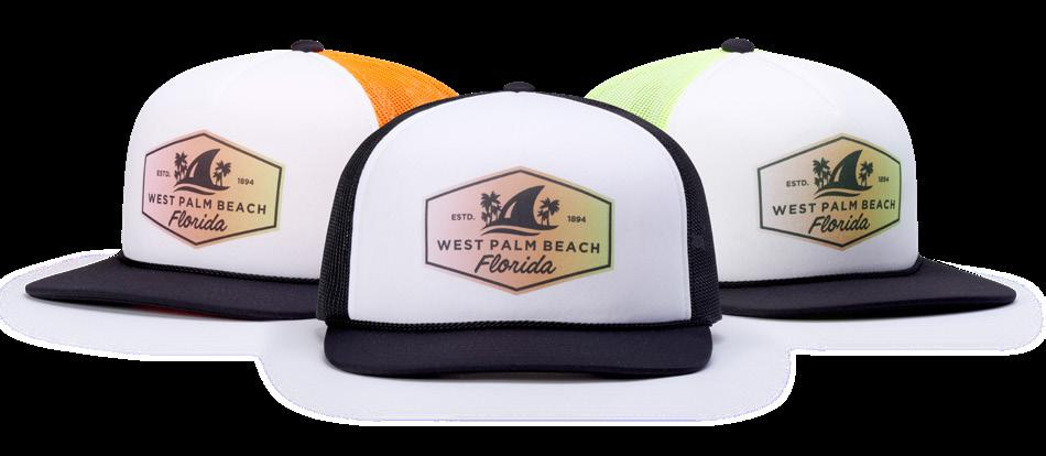 113 FOAMIE TRUCKER FIT: ADJUSTABLE SNAPBACK SHAPE: STRUCTURED PINCH FABRIC: FOAM/POLY MESH VISOR: FLAT LIFESTYLE STREET On-trend, street-inspired styles.