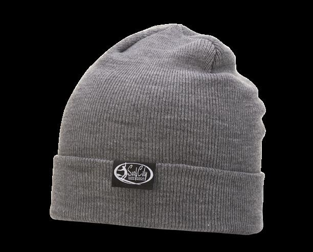 137 HEATHERED BEANIE W/ CUFF FIT: ONE SIZE FITS MOST SHAPE: 4 TOPSEAM KNIT FABRIC: 100% ACRYLIC 147