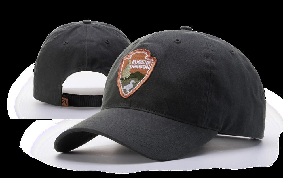 The extra-large front panel and rugged waxed cotton fabric make this the perfect cap for any trailblazer. SUBLIMATED PATCH CL173 SOLID COLORS: Undervisor is cap color.