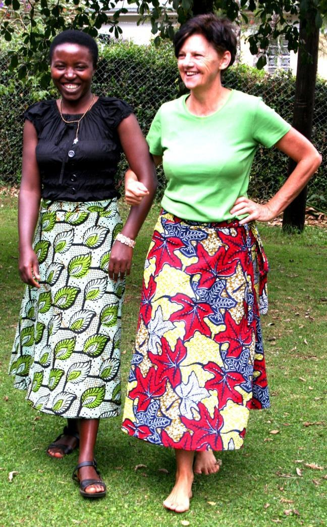 Wrap skirt Much like the wrap dress, this classic style skirt looks fabulous on all shapes and sizes and sits