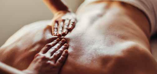 Deep muscle massage A powerful massage designed to alleviate deep-seated tension and muscular stress.