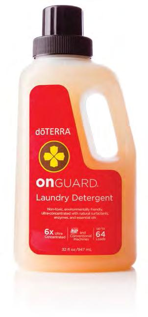 essential oil blend 38910001 4.2 oz On Guard Laundry Detergent NEW!