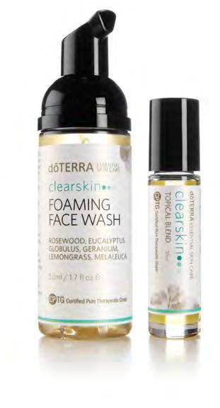 clearskin Clear Skin Foaming Face Wash Discover the perfect solution for problem skin of all ages with the dōterra Clear Skin Foaming Face Wash.