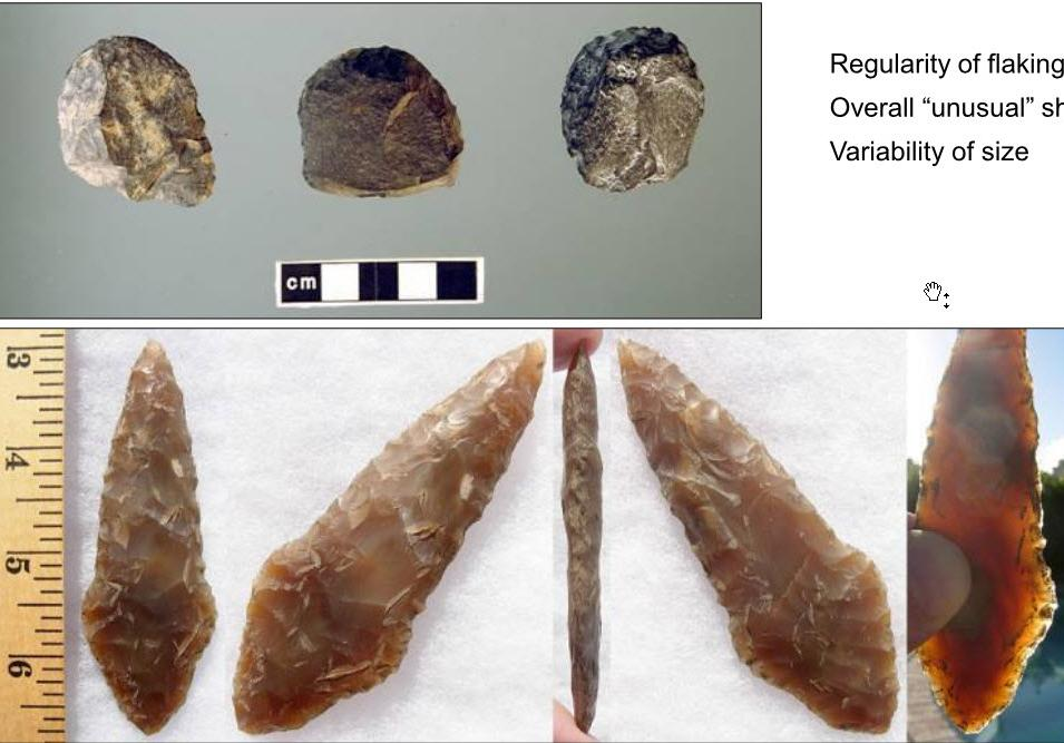 Examples of Cultural and Historic Resources Addressed in this IDP Stone Tools