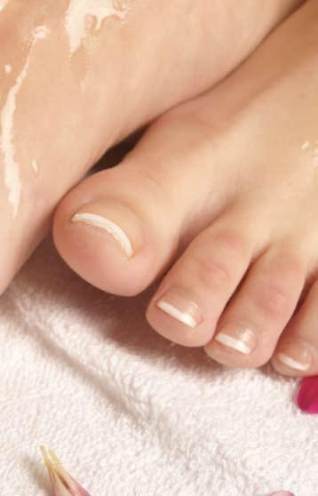 FEET Jessica Shape & Polish 15.00 Removing existing polish the therapist will then file the nails and follow with the correct base treatment and Jessica polish of your choice.