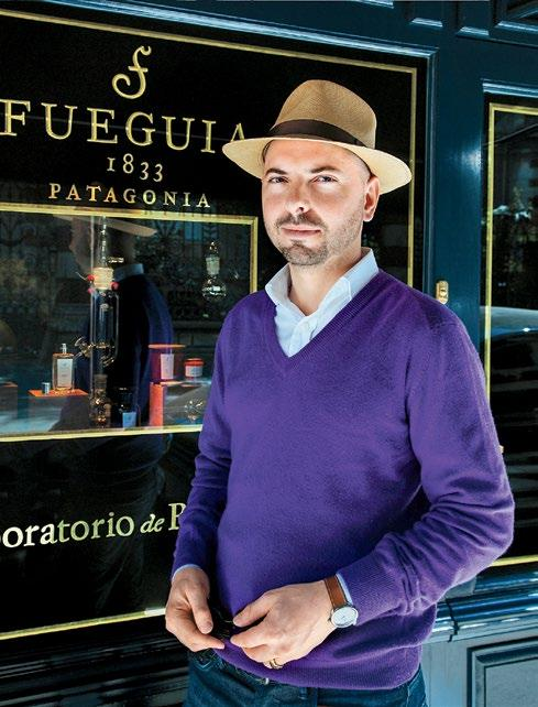 INTERNATIONAL SHOPPING GUIDE INSIDER S GUIDE JULIAN BEDEL S BUENOS AIRES The creator of niche fragrance line Fueguia 1833, Julian Bedel draws inspiration from the sights and scents of his home