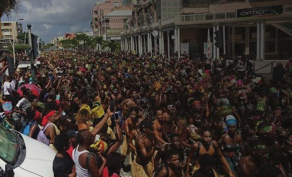 DEYAH magazine guadeloupe carnival mas maten Written by: AC Christie Mas Maten, the Saturday morning carnival, I was told could not be missed as it reflects Guadeloupe. And they were right.