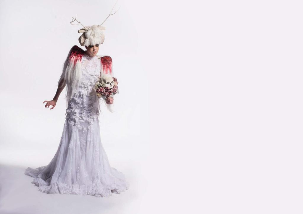 WOW provides an excellent platform for designers to create not only a costume but a wearable art piece that