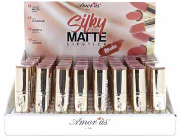 LIPS CO-MNLD Silky Matte Lipstick Nudes This Silky Matte Lipstick will give you a luscious lip with this lightweight, silky smooth, comfortable matte formula.