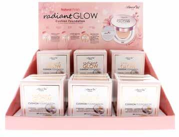 FACE CO-CSD Radiant Glow Cushion Foundation This Radiant Glow Cushion Foundation will give you a flawless makeup look
