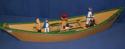 ------------------------------- SALE LOCATION 11802 145 Street, Edmonton 346 A wooden dory boat and wooden carved figures Printed Auction List $3.00 or Download at www.wardsauctions.