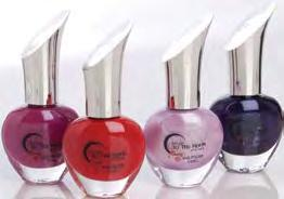 Comes in four current popular colours, reds, pinks, and mauves.